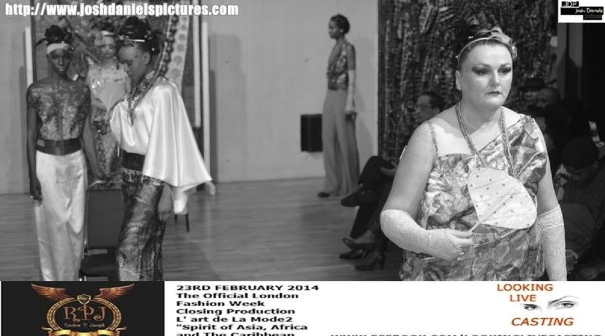 black and white image of Reka Orosz dress